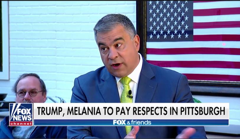 On Fox, David Bossie Pretends Donald Trump Went To