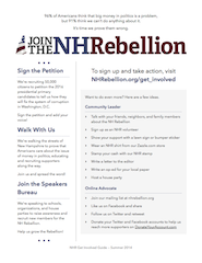 NHR Get Involved Handout