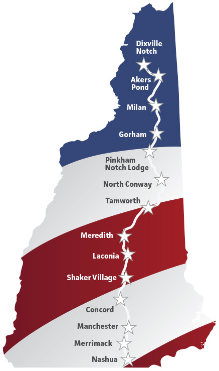 NH Rebellion Map Route