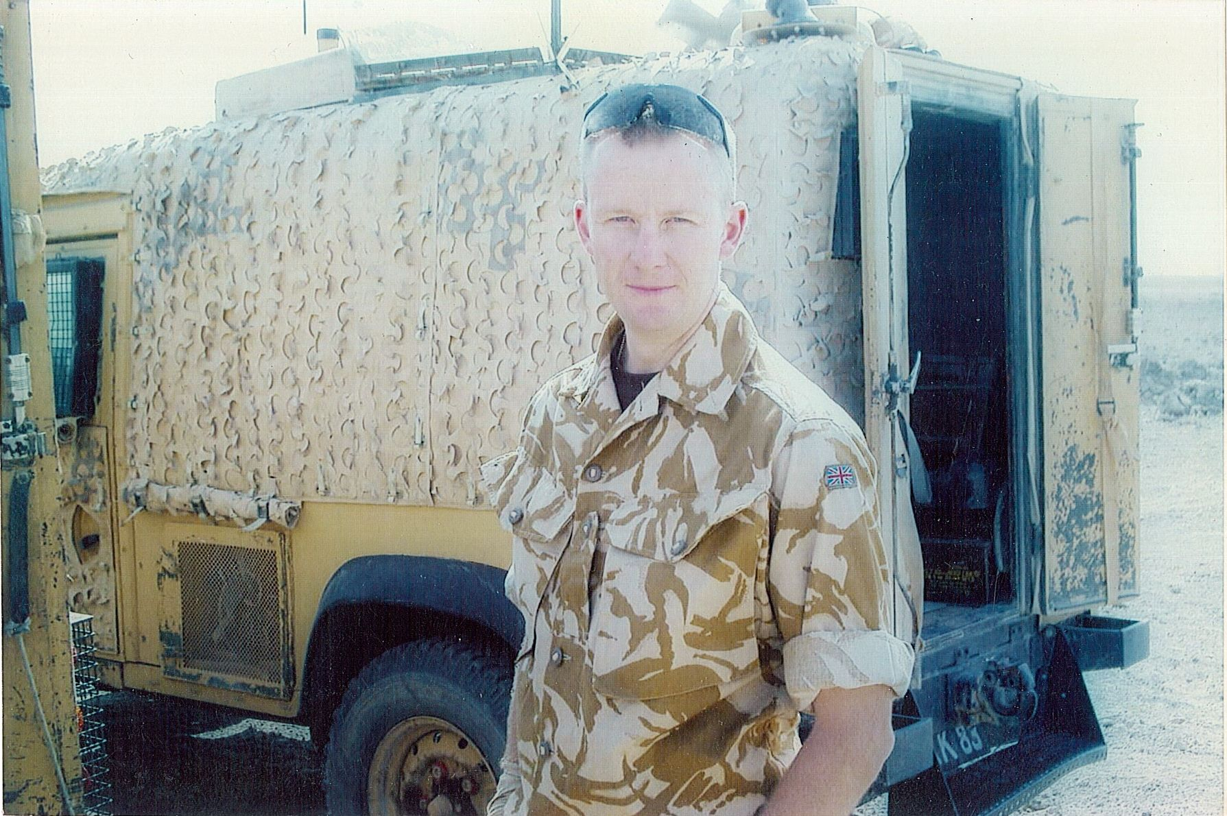 Nick Donovan in Iraq 2005/6