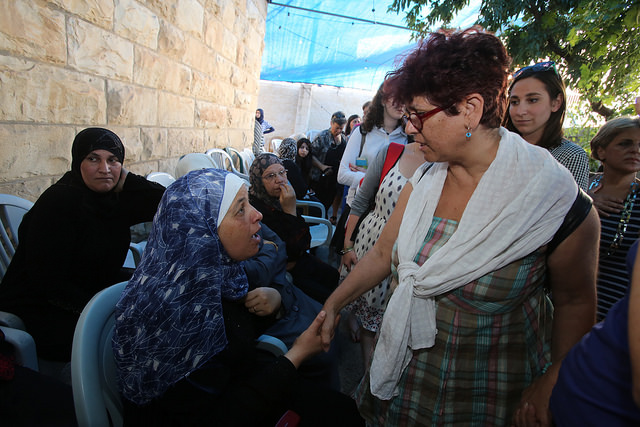 Tag Meir facilitated transportation of hundreds of Jewish Israelis to visit the family of Mohammed Abu Khdier