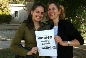 Women Should Be Seen and Heard