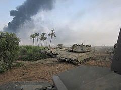 Gaza border: Photo by IDF
