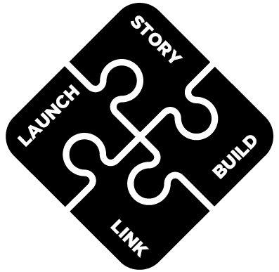 Story, Build, Launch, Link - Jigsaw