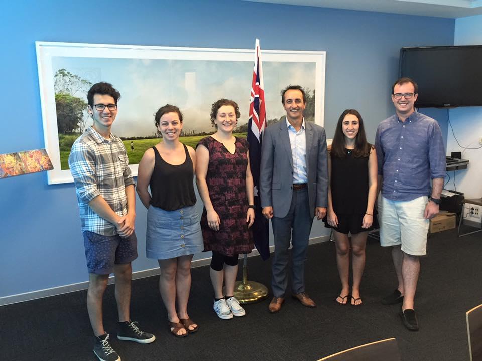 Australia's Ambassador to Israel, Dave Sharma