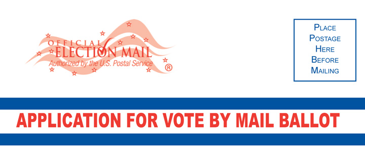 Vote By Mail Application detail - NJ