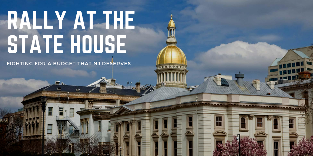 Solidarity Alert: Rally at the State House - New Jersey State AFL-CIO