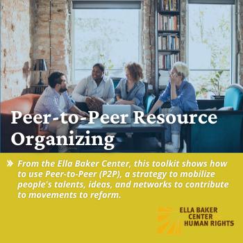 Peer to Peer Resource Organizing