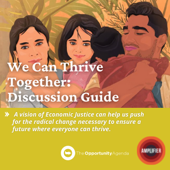 We Can Thrive Together - Economic Justice Discussion Guide