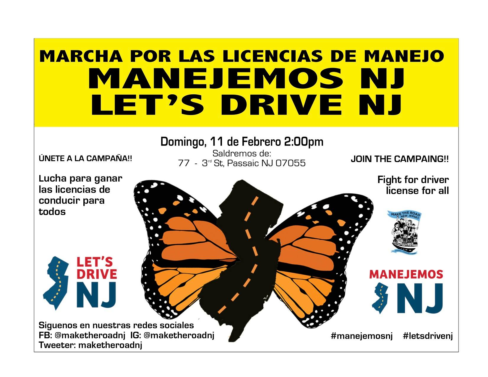 Manejemos NJ Passiac flyer
