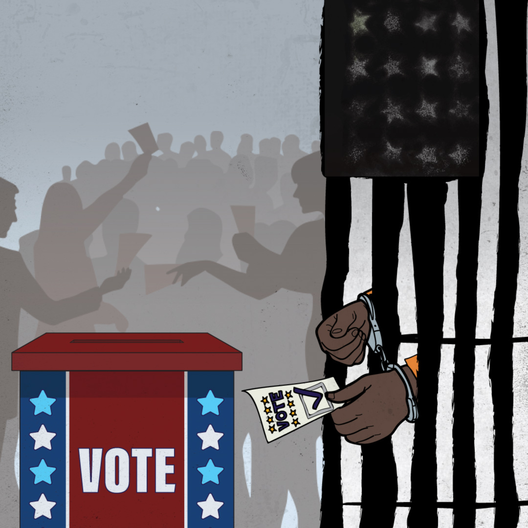 Over 102,000 people can't vote in New Jersey. Learn why and take action to restore their rights. #1844nomore