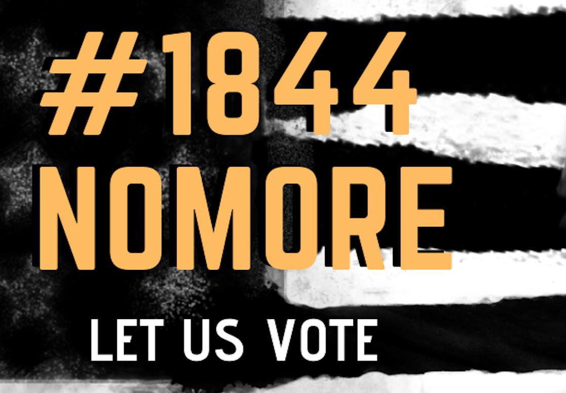 #1844NoMore Social Media Image
