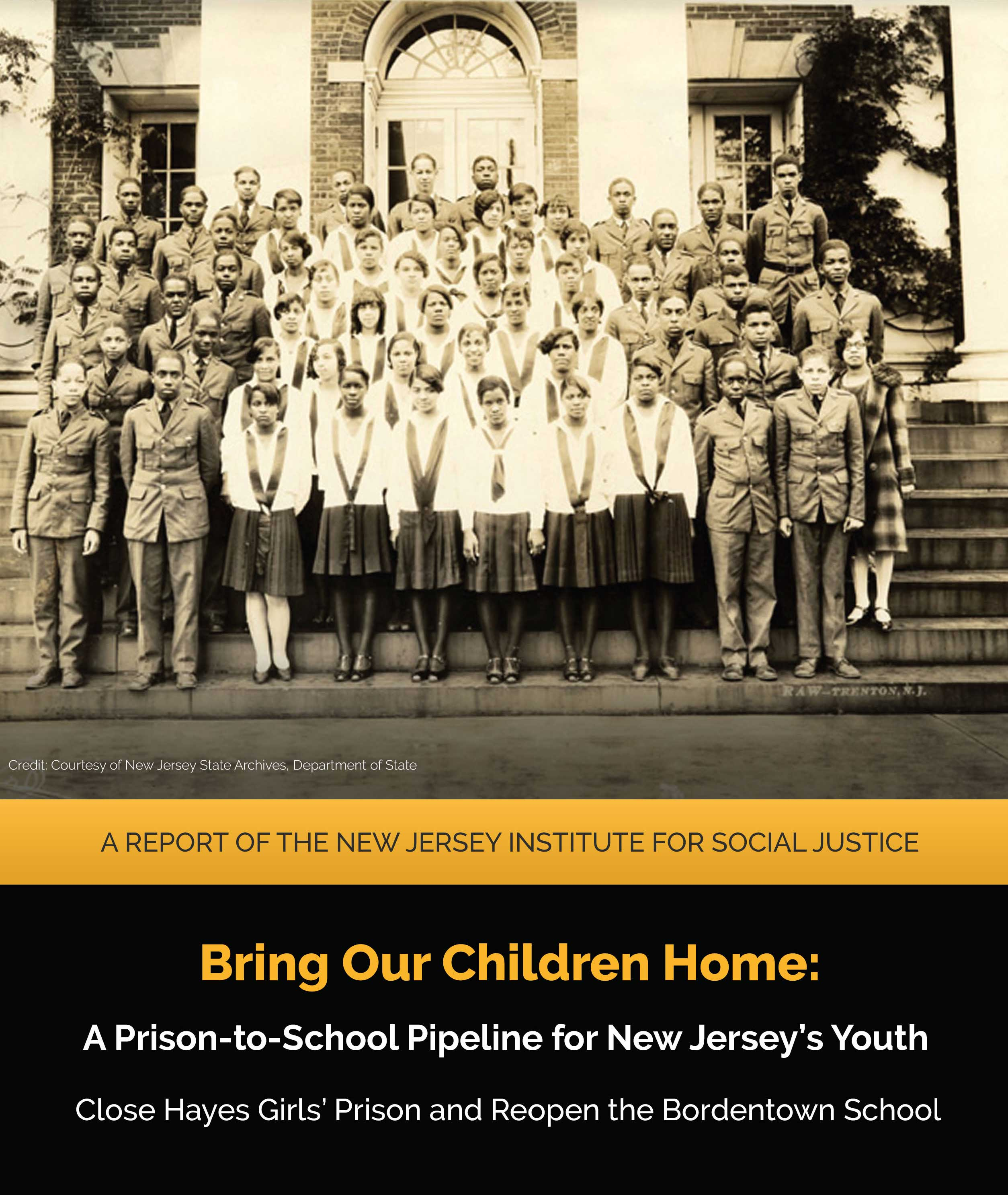 Read the Institute's new report on why we must close the girls' youth prison and reopen the Bordentown School. | Read more.