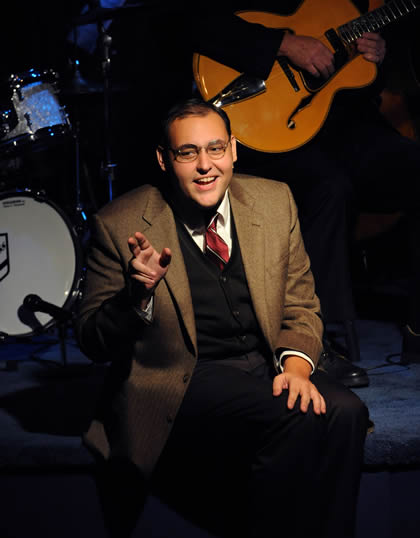 Nick Cooper as Ira Gershwin