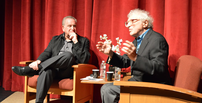 Arnold Mittelman with Sheldon Harnick