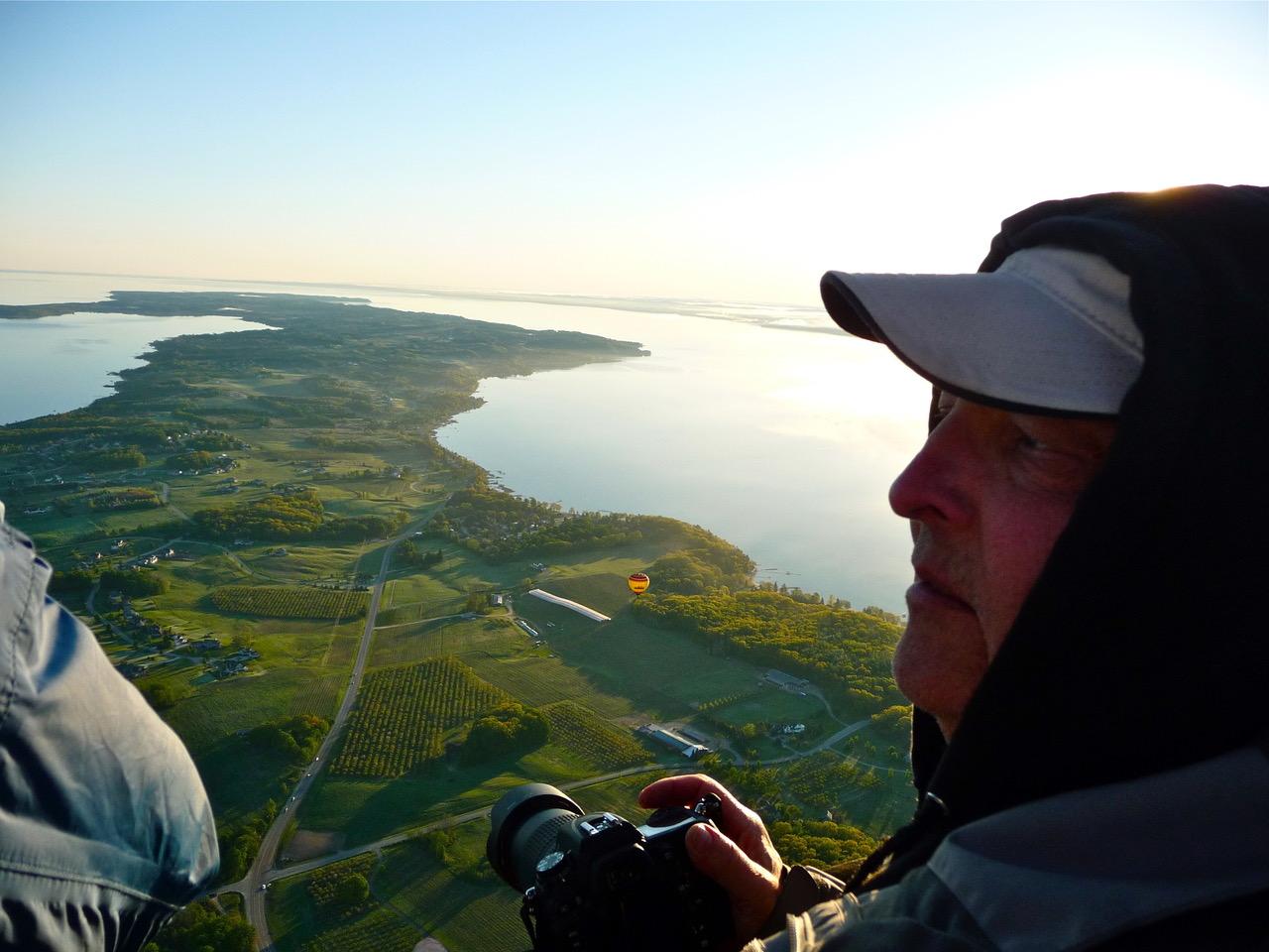 Bob Russell ballooning