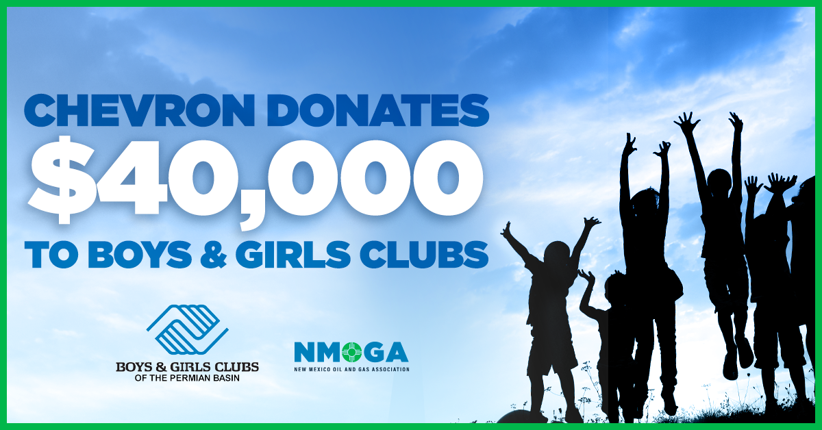 Chevron donates $40,000 to the Boys & Girls Clubs of the Permian Basin