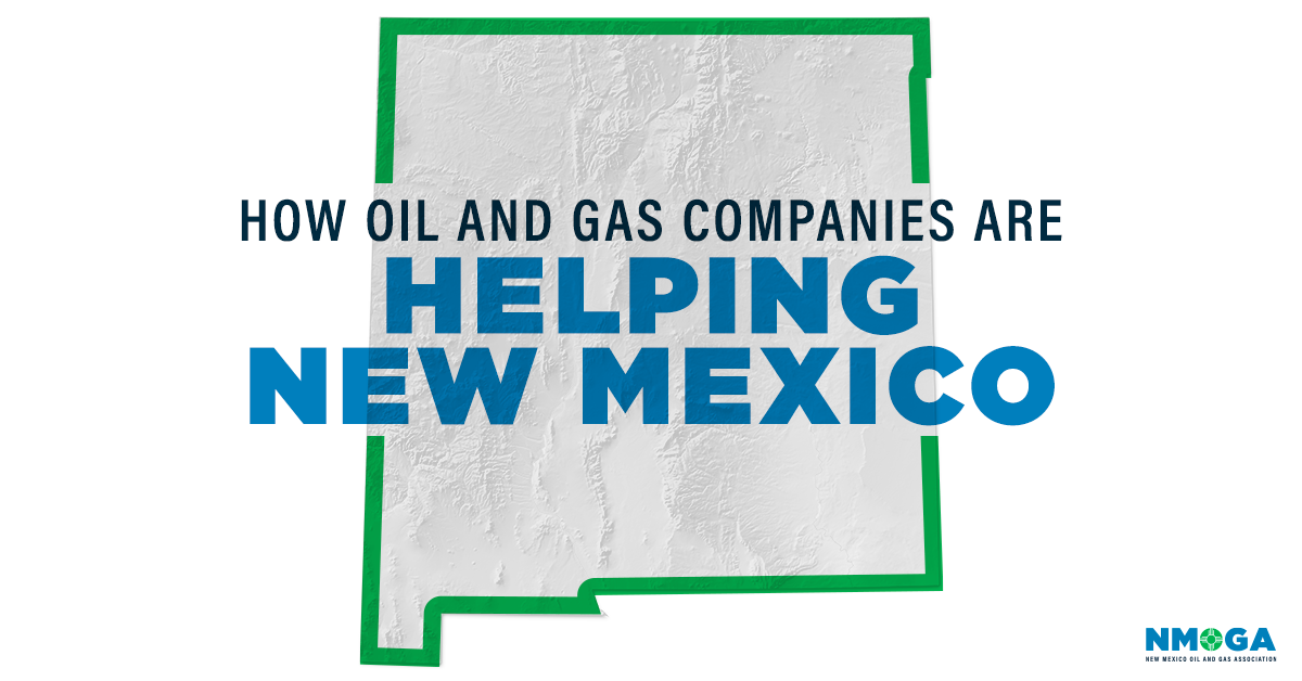 Oil and gas companies help New Mexico community amidst COVID crisis