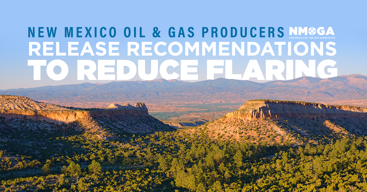 NMOGA Report Identifies Strategies and Opportunities to Reduce Oilfield Flaring