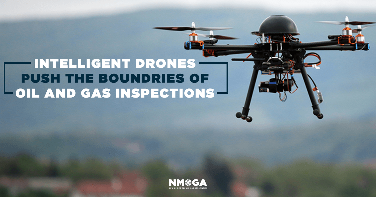 Intelligent Drones Push The Boundaries Of Oil And Gas