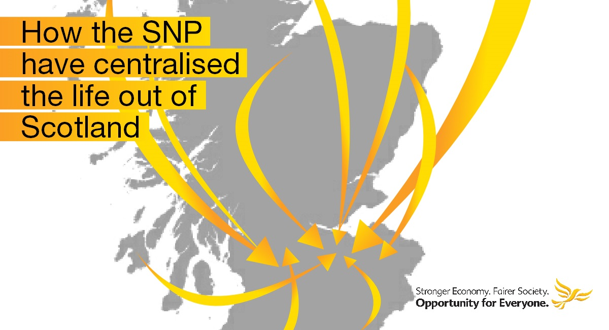 What have the SNP centralised?