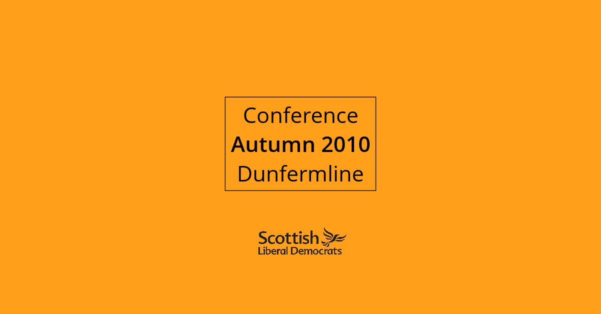 2010, Autumn - Dunfermline