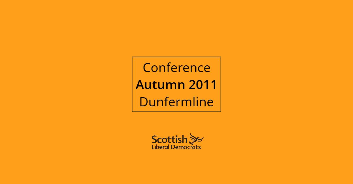 2011, Autumn - Dunfermline