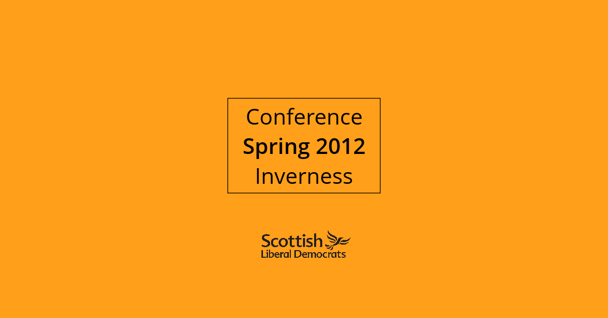 2012, Spring - Inverness