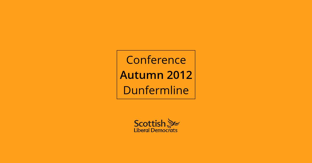 2012, Autumn - Dunfermline