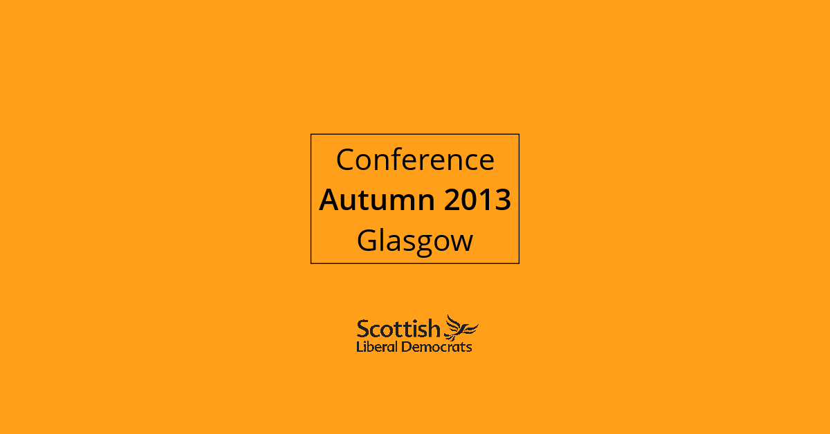 2013, Autumn - Glasgow