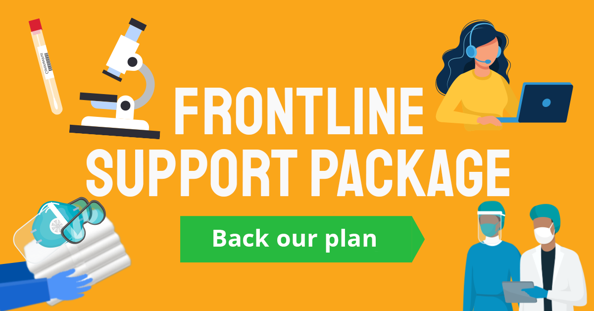 Back our Frontline Support Package