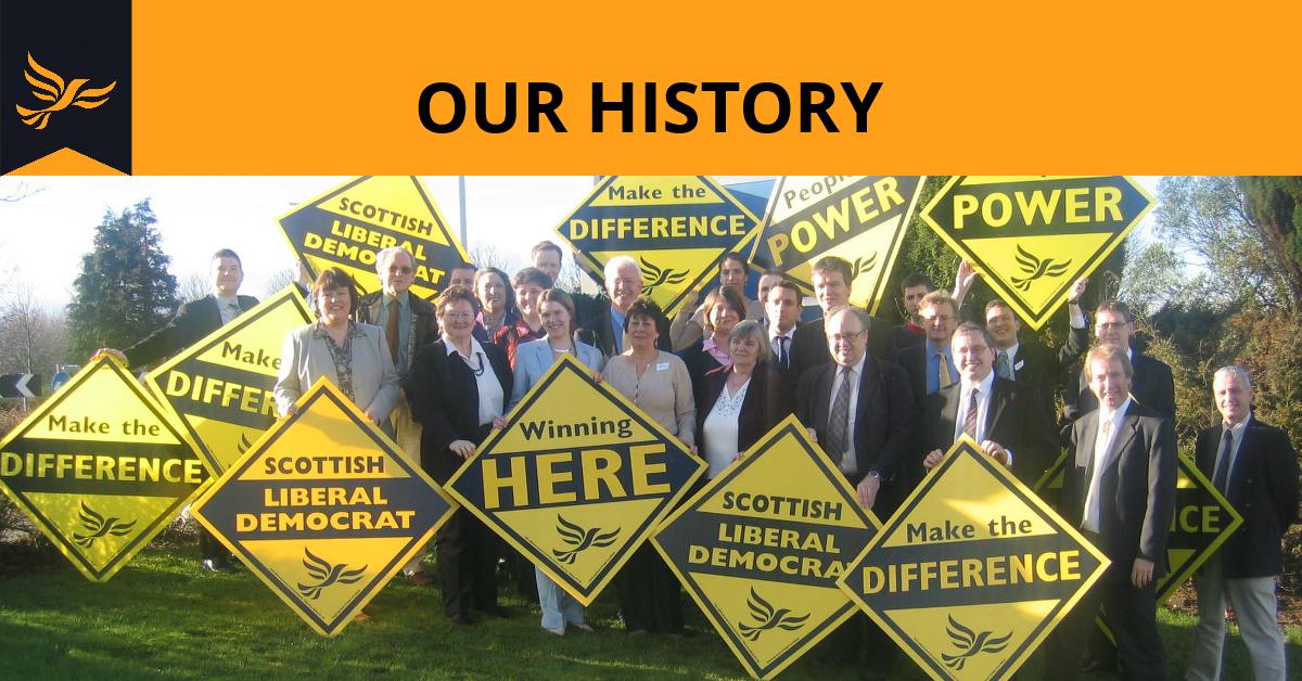 History of Scottish Liberals