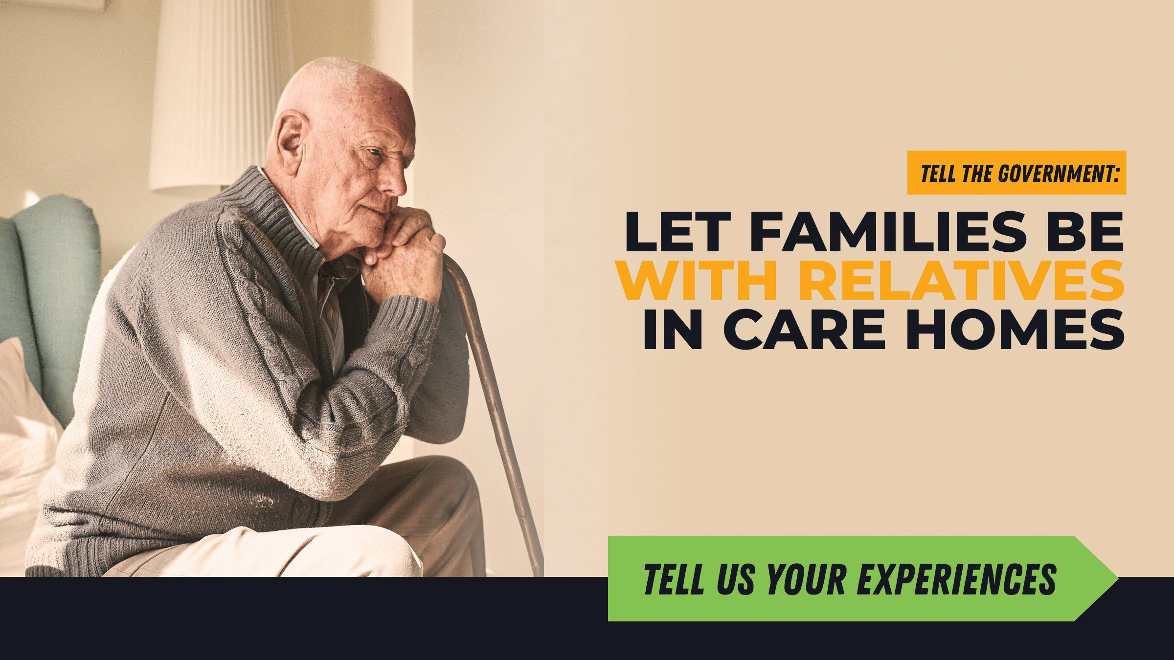 Tell us your care home experiences