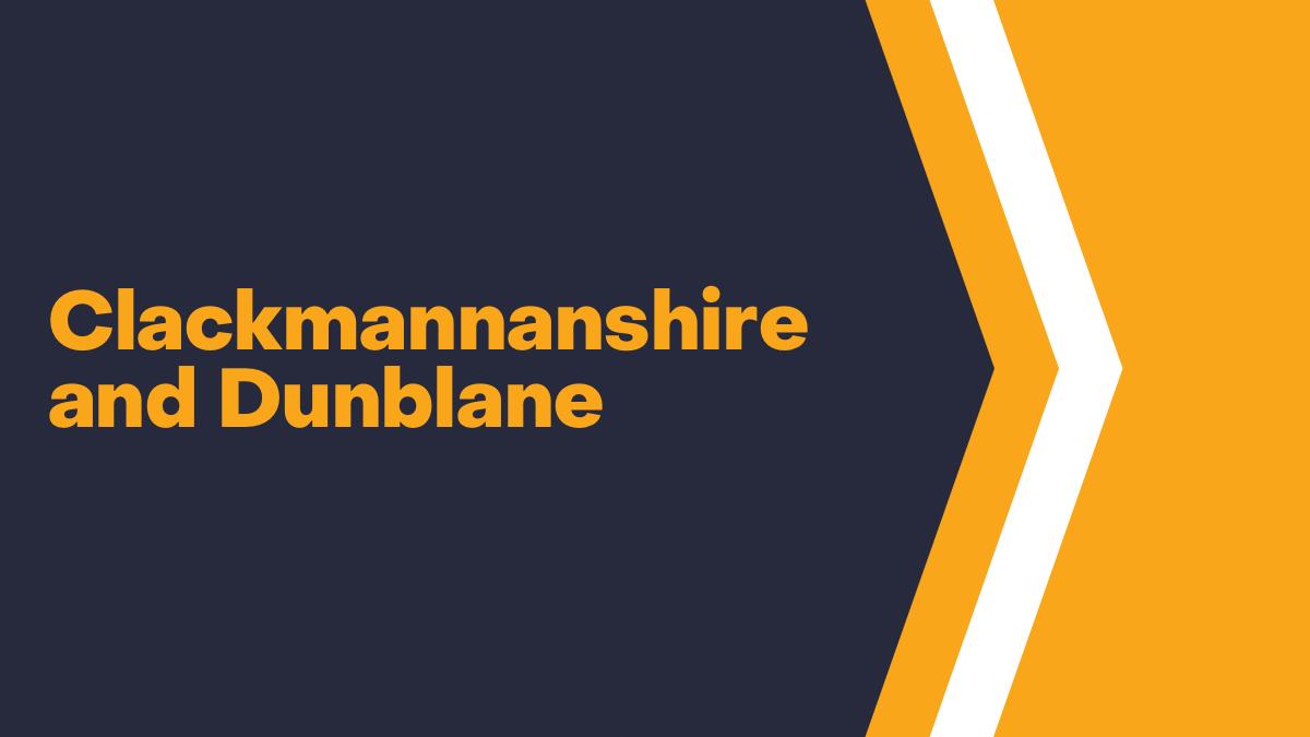 Clackmannanshire and Dunblane