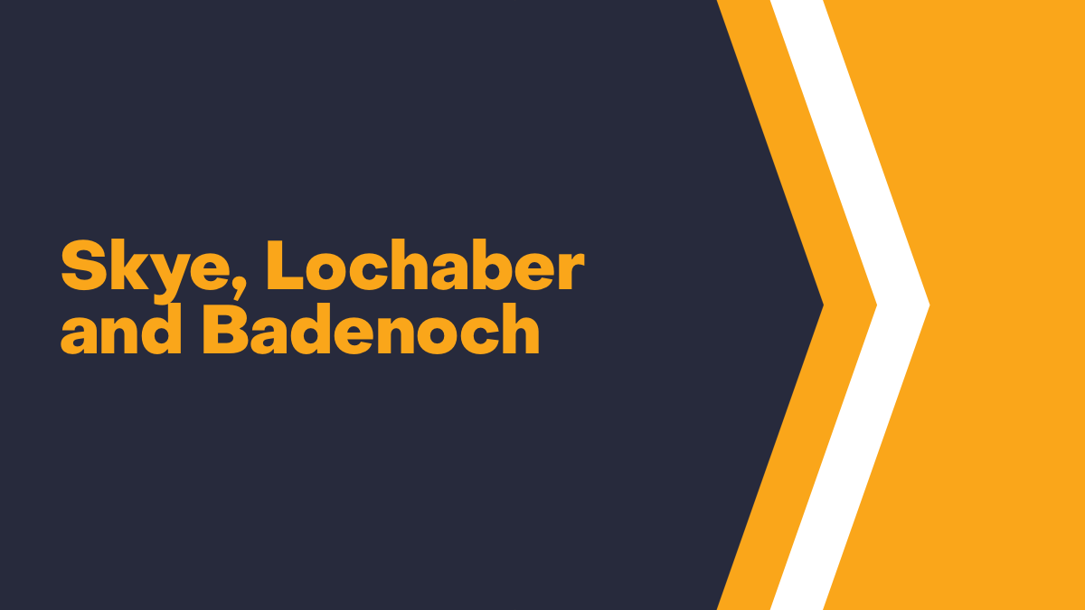 Skye, Lochaber and Badenoch