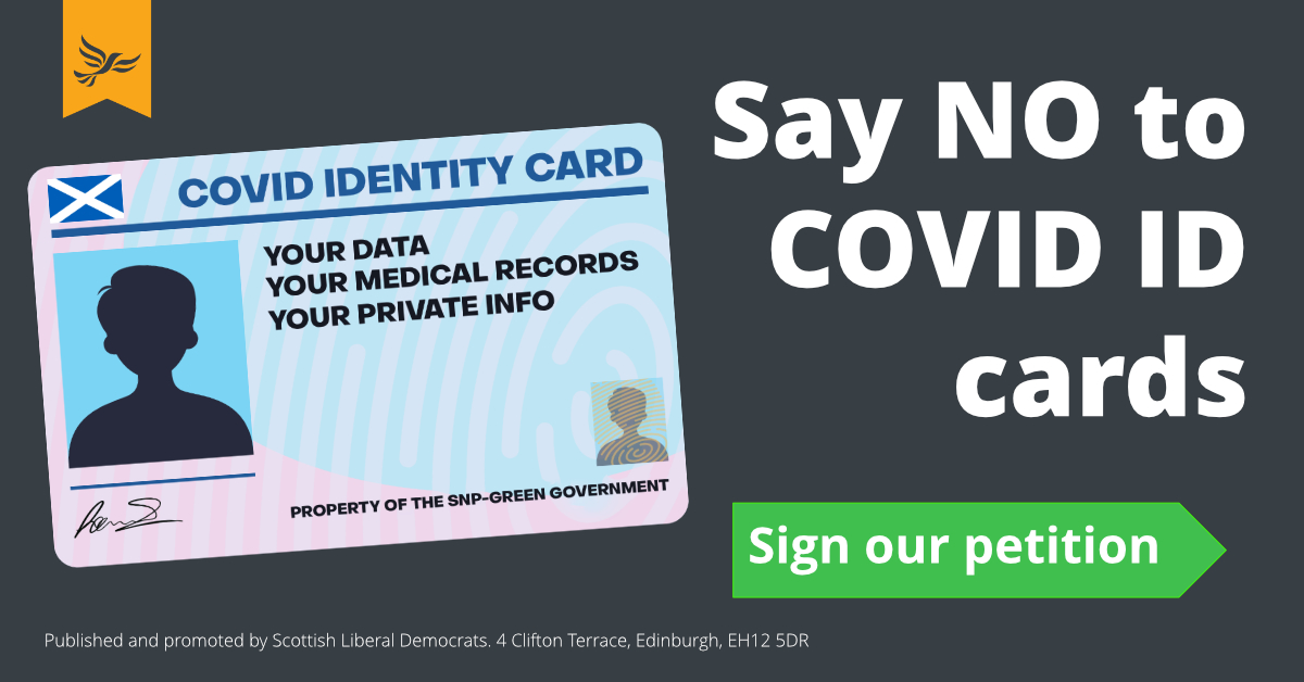 Say No to Covid ID cards