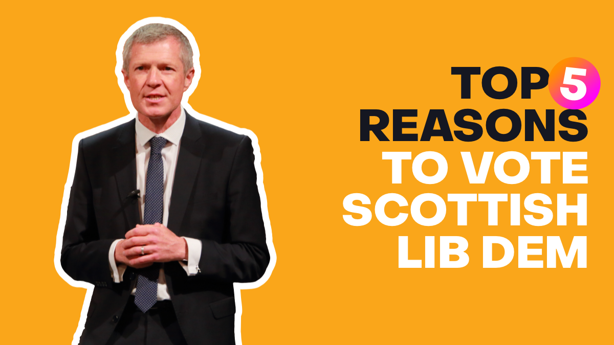 Top 5 Reasons to Vote Liberal Democrat in 2021