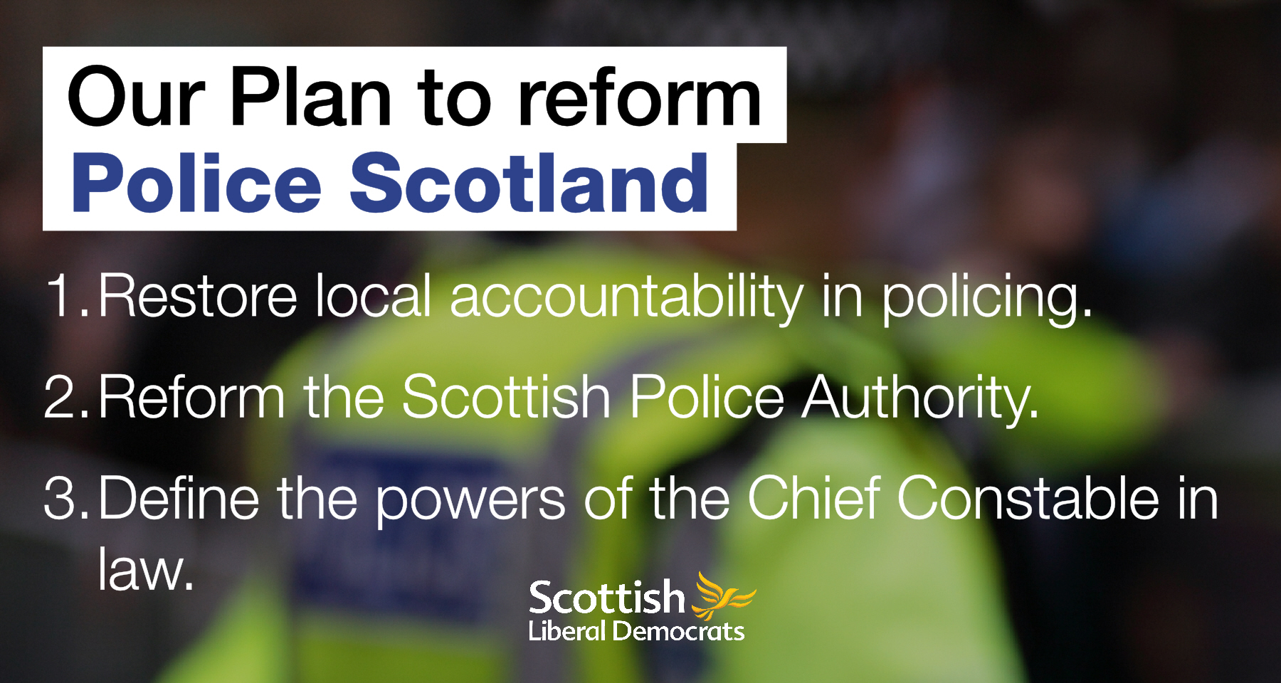 Put democracy back into Scottish policing