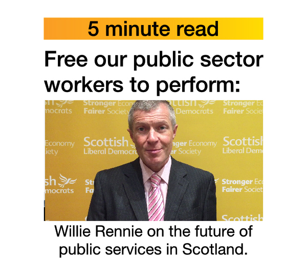 5 minute read: Our plan for public sector freedom