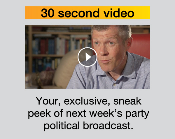 30 second video - Willie Rennie's message to Scotland & a sneak preview of our next PPB