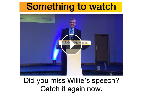 Missed Willie's conference speech? Catch it now!