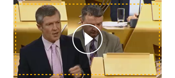 Watch Willie at FMQs