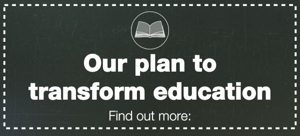 ICMYI: Our plan for education