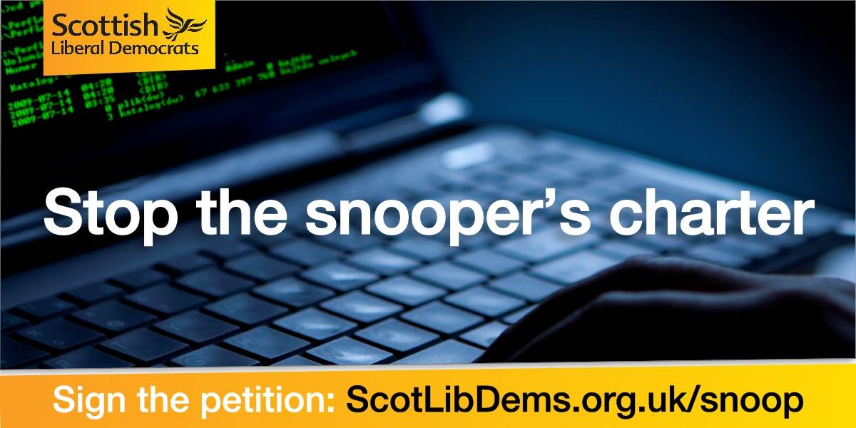 Stop the Tory Snooper's charter