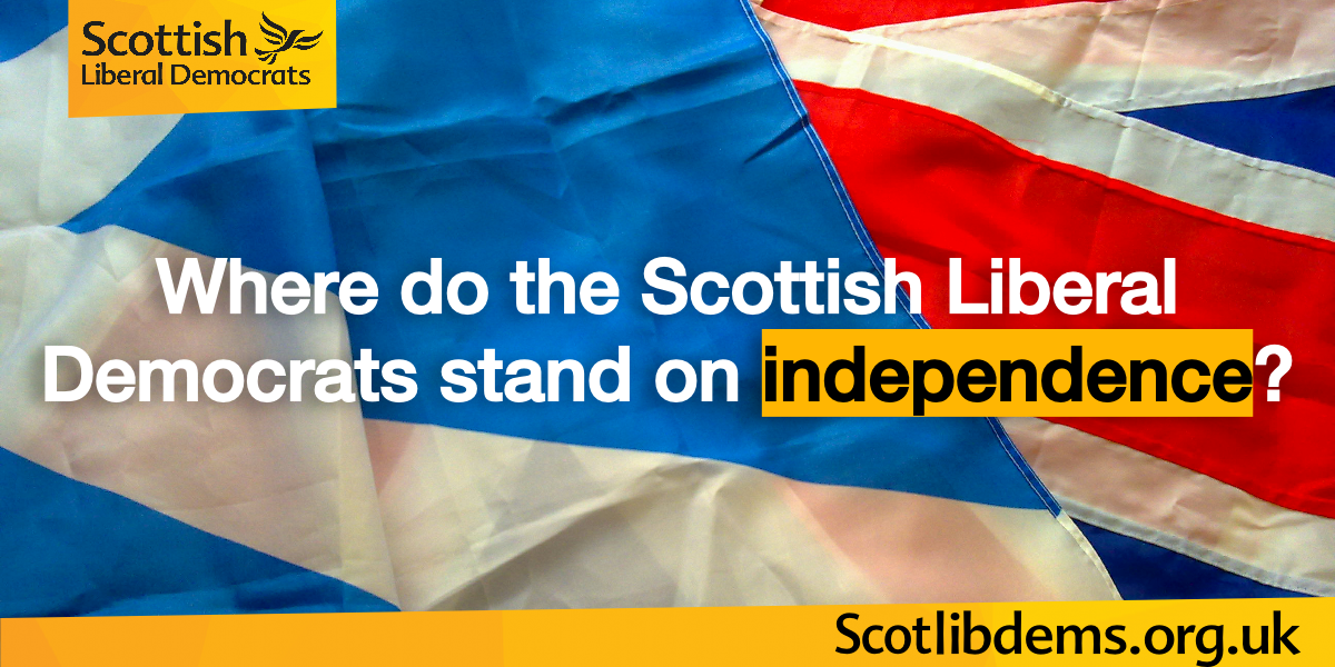 Where do the Scottish Lib Dems stand on independence?