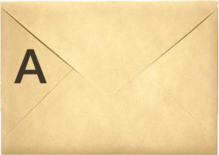Put the ballot paper inside envelope A