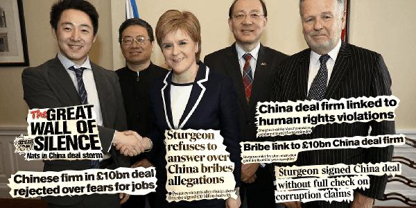China Deal Timeline