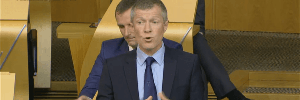 Willie calls on the SNP to be ambitious and aspirational