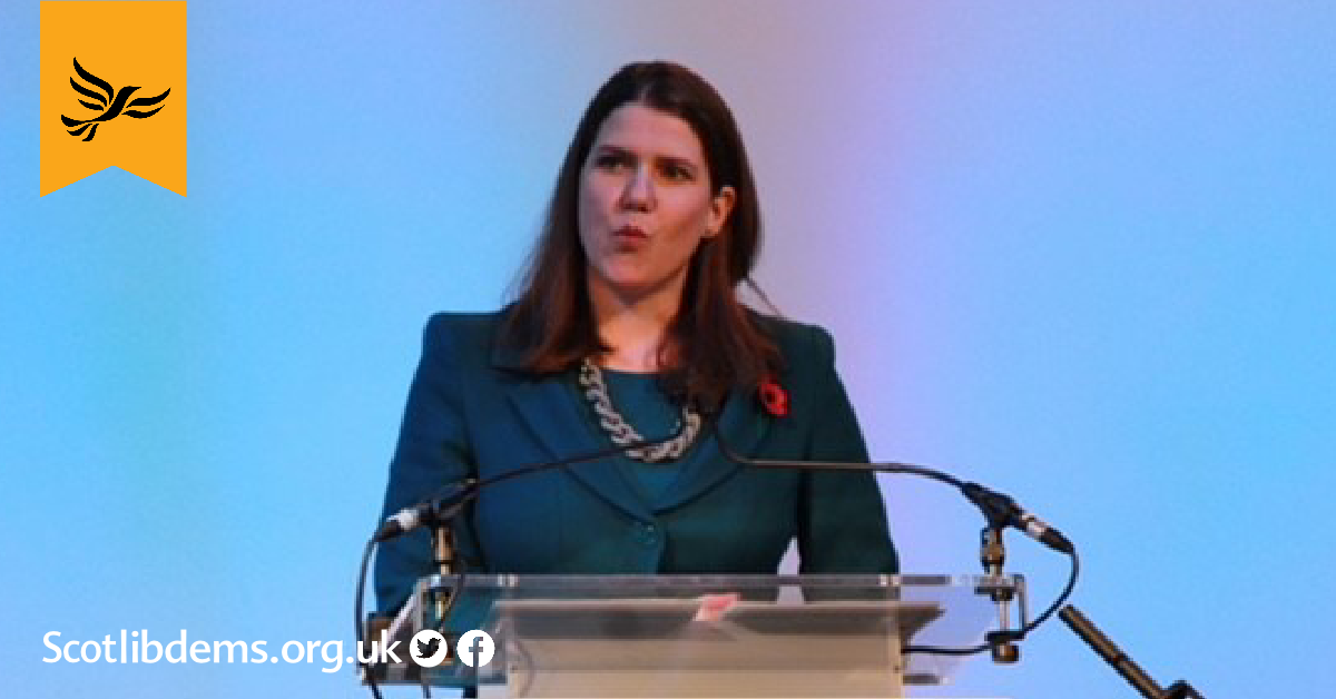 Swinson: Political faultlines have shifted