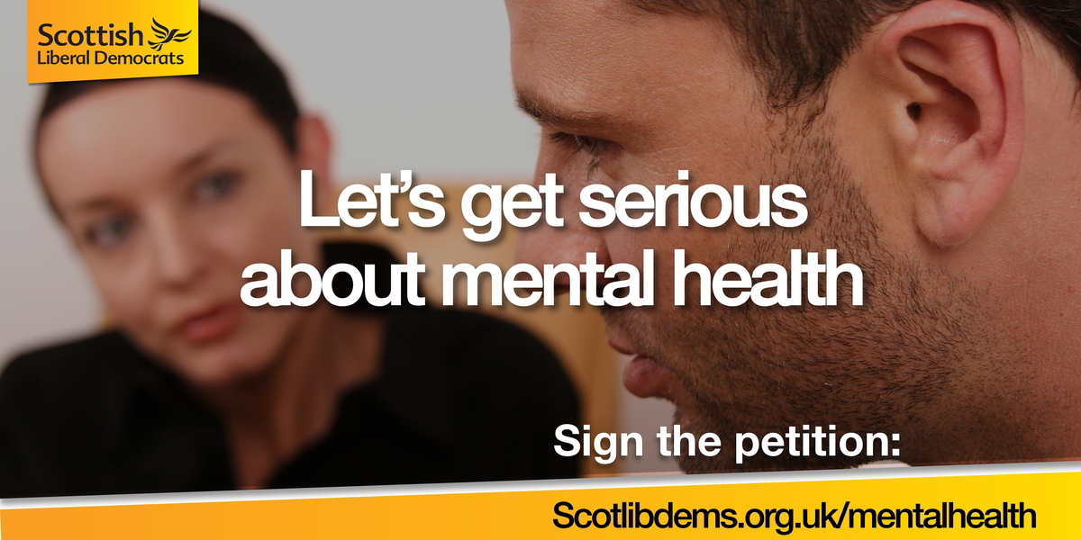 Let's get serious about mental health